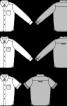 Сорочка класичного крою з боковими розрізами - фото 3