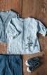Сорочка прямого крою з пластроном - фото 1