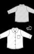 Сорочка трикотажна класичного крою - фото 3