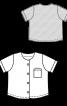 Сорочка трикотажна без коміра - фото 3