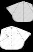 Блуза широкого крою з коміром-стойкою - фото 3