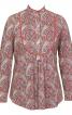 Блуза с пластроном і застібкою поло - фото 2