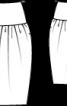 Спідниця-балон на широкій кокетці - фото 3
