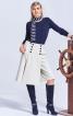 Спідниця-брюки з полотнищем на ґудзиках - фото 1