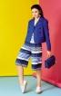 Спідниця-брюки на фігурній кокетці - фото 1