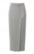 Спідниця-олівець довжиною міді із запахом - фото 2