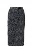 Спідниця-олівець з вигнутим рельєфним швом - фото 2