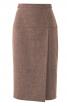 Спідниця вузького крою з широкою кокеткою - фото 2