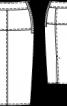 Спідниця-олівець із шерстяного сукна - фото 3