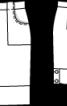 Коротка спідниця з настроченими кишенями - фото 3
