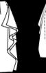 Спідниця-олівець із суцільнокроєними воланами - фото 3