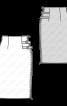 Спідниця-олівець з декоративними застібками - фото 3