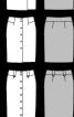 Мініспідниця із застібкою на ґудзики - фото 3