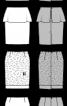 Спідниця прямого крою з воланом - фото 3