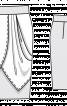 Спідниця-олівець з відлітними деталями - фото 3