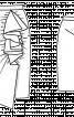Спідниця-олівець з драпіровками і воланом - фото 3