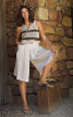 Спідниця-шорти зі знімним ременем - фото 1