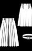 Спідниця-шорти зі знімним ременем - фото 3