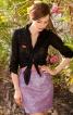 Спідниця міні форми тюльпан - фото 1