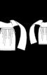 Спідниця-тюльпан з широким поясом - фото 3