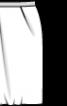 Спідниця-тюльпан із трикотажного полотна - фото 3