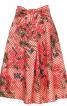 Спідниця А-силуету з поясом-шарфом - фото 2