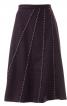 Спідниця А-силуету з рельєфними швами - фото 2