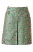 Спідниця А-силуету із зустрічною складкою - фото 2