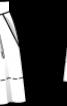 Спідниця А-силуету на трикутній кокетці - фото 3