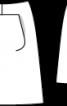 Спідниця А-силуету з техно-габардину - фото 3