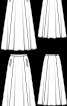 Максіспідниця батистова розкльошеного крою - фото 3
