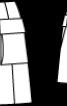 Спідниця міні з кишенями-портфелями - фото 3