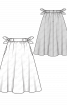 Спідниця розкльошеного силуету з кишенями - фото 3