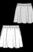 Спідниця шерстяна на еластичному поясі - фото 3