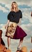 Спідниця А-силуету з клинами годе - фото 1