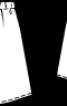 Спідниця на кулісці із наскрізною застібкою - фото 3