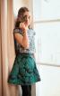 Спідниця міні розкльошеного силуету - фото 1