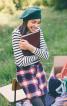 Спідниця А-силуету із наскрізною застібкою - фото 1