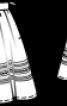 Спідниця лляна в баварському стилі - фото 3
