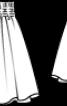Спідниця подвійна пишного крою - фото 3