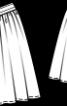 Спідниця з фігурною кокеткою - фото 3