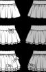 Спідниця трикотажна пишного крою - фото 3