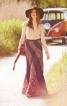 Спідниця довга розкльошеного силуету - фото 1