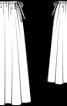 Спідниця довга на кулісці - фото 3