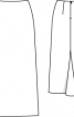Спідниця максі з клином годе - фото 3