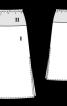 Спідниця максі на кокетці - фото 3