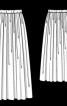 Спідниця максі на еластичному поясі - фото 3