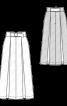 Спідниця довга зі складками - фото 3