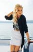 Спідниця міні А-силуету - фото 1