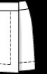 Спідниця міні з запахом - фото 3